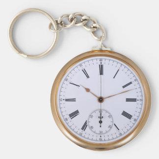 Alte Uhr-Antiken-Taschen-Uhr Schlüsselanhänger