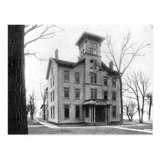 Alte Uni, Evanston, im Jahre 1855 errichtet Postkarte