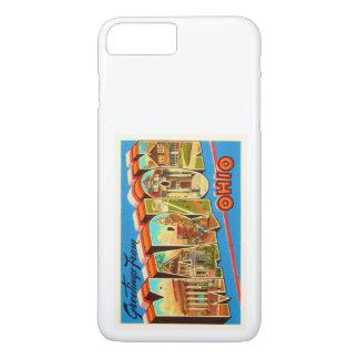 Alte Vintage Reise-Andenken Marion Ohio OH- iPhone 8 Plus/7 Plus Hülle