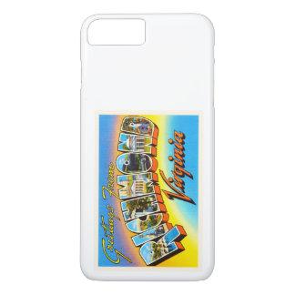 Alte Vintage Reise-Postkarte Richmonds Virginia VA iPhone 7 Plus Hülle