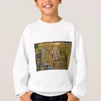 alte Werkzeuge Sweatshirt