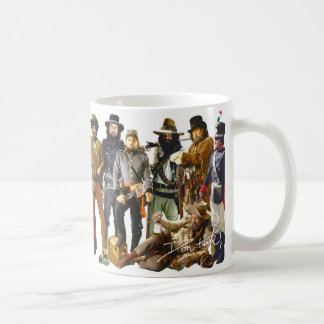 Alte Westcharaktere Kaffeetasse