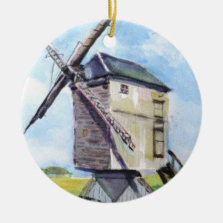 Alte Windmühlenverzierung Keramik Ornament