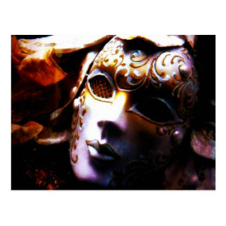 Alte Zeit-Maskerade Postkarte