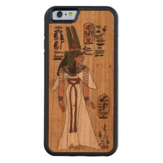 Alter ägyptischer Papyrus-Pharaonic Bumper iPhone 6 Hülle Kirsche