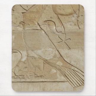 Alter ägyptischer Schlüssel des Lebens Ankh mit Mousepad