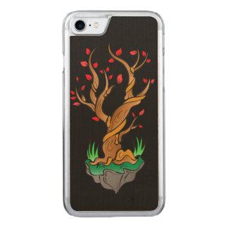 Alter Baum/neues Wachstum Carved iPhone 8/7 Hülle