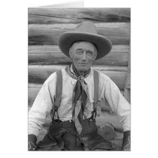 Alter Cowboy Karte