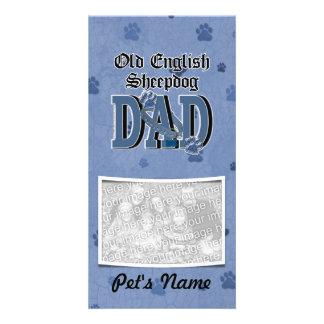 Alter englischer Schäferhund VATI Photo Karten