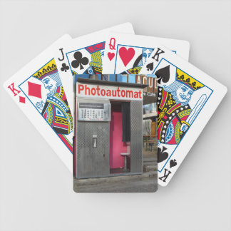 Alter Fotostand 001, Berlin Bicycle Spielkarten