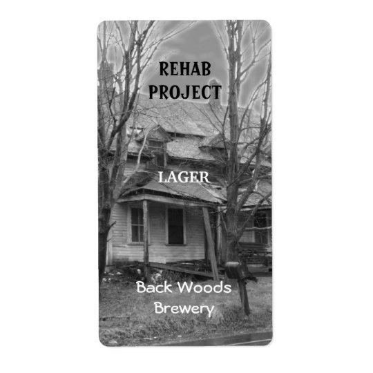 Alter Haus ~ Bier-Aufkleber Versand Aufkleber