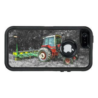 Alter internationaler Traktor Painterly OtterBox iPhone 5/5s/SE Hülle