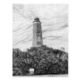 Alter Kap-Henry-Leuchtturm Postkarte