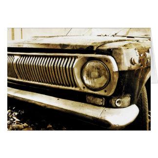 Alter klassischer Auto-Scheinwerfer #2 Karte