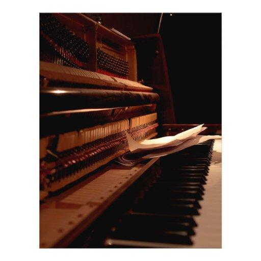 Alter Klavier-Flyer