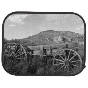 Alter Lastwagen Parks USA, Montana, Bannack Staat Autofußmatte