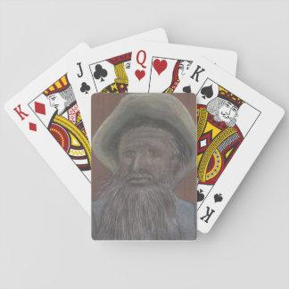 Alter Mann vom Meer auf Spielkarten