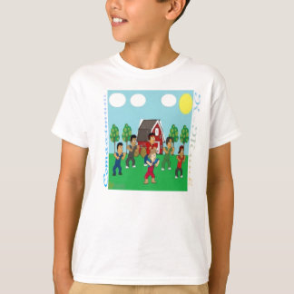 Alter McDonald hatte einen Bauernhof-T - Shirt