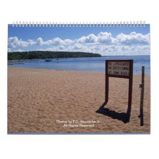 Alter Michigan-Kalender des Auftrag-2018 Kalender