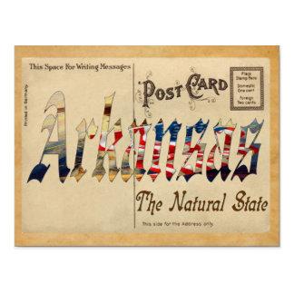 Alter Postkarten-Arkansas-Staat Postkarte