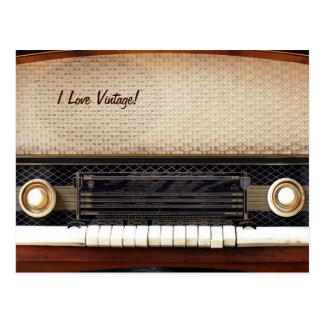 Alter Radio Postkarte