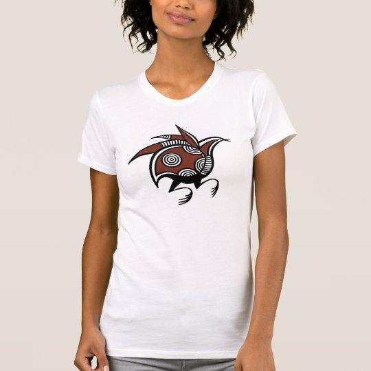 Alter zypriotischer Vogelmotiv T - Shirt