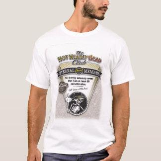 """Älterer Bürger """"ließ es alles"""" T - Shirt heraus"""