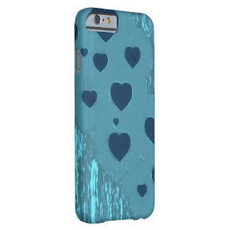 Alternative blaue Herzen Barely There iPhone 6 Hülle