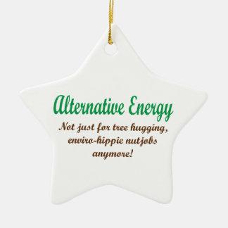 Alternative Energie Keramik Stern-Ornament