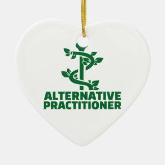 Alternativer Praktiker Keramik Herz-Ornament