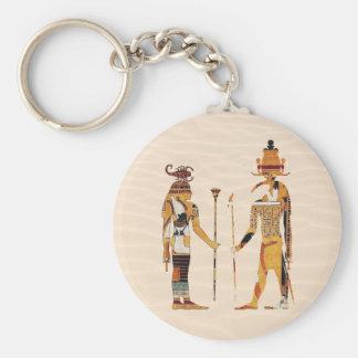 Altes Ägypten-Götter Keychain Schlüsselanhänger