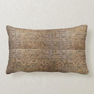 Altes ägyptisches Hieroglyphen-Designer-Geschenk Lendenkissen