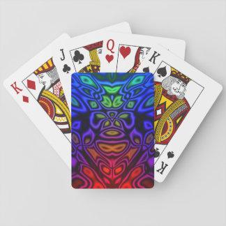 Altes alien spielkarten
