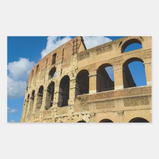 Altes Colosseum in Rom, Italien Rechteckiger Aufkleber