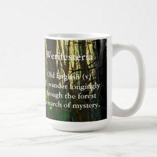 Altes Englisches-Werifesteria Kaffeetasse