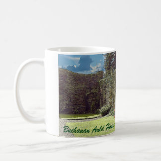 Altes Haus Buchanans - Clan Buchanan Kaffeetasse