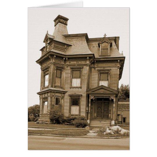 Altes Haus - Plattsburgh Grußkarte