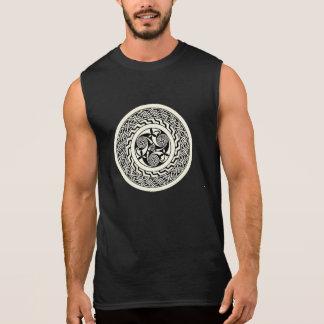 Altes keltisches Muster-Shirt Ärmelloses Shirt