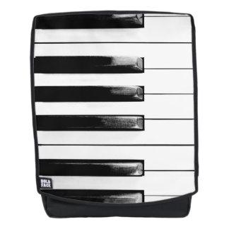 Altes Klavier befestigt lustiges cooles Rucksack