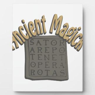 Altes Magick Fotoplatte