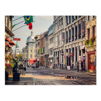 Altes Montreal Postkarte