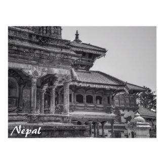 Altes Nepal Postkarte