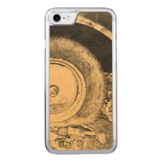 Altes Rad des klassischen Autos Carved iPhone 8/7 Hülle