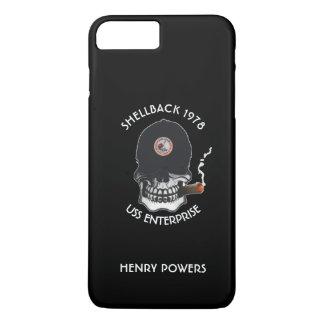 Altes Salz-Schädel-Gewohnheit iPhone 8 Plus/7 Plus Hülle