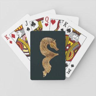 Altes Seepferd-Spielkarten Spielkarten