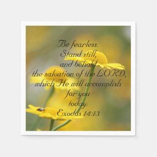 Altes Testament-Bibel-Schrifts-Zitat - Papierserviette