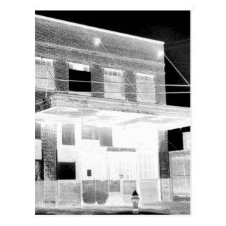 Altes Verzicht-Gebäudenegativ Postkarte