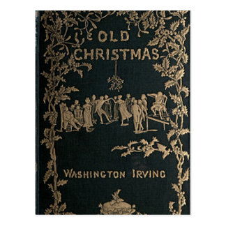 Altes Weihnachten - Washington Irving Postkarte