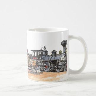 Altes Westeisenbahn-Depot Tasse