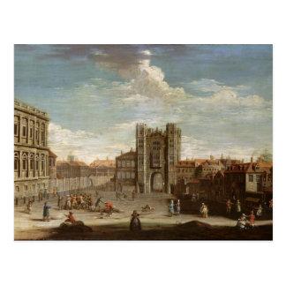 Altes Whitehall und der geheime Garten Postkarte